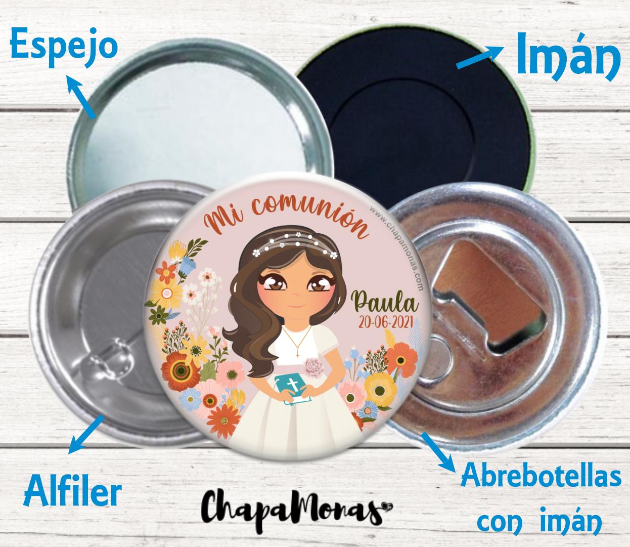 CHAPA COMUNIÓN PELO ONDAS