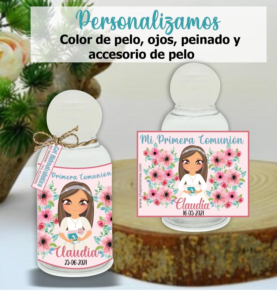 - Gel Hidroalcoholico NIÑA PERSONALIZADO