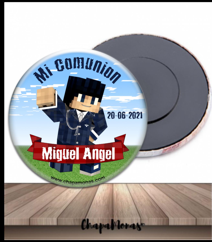 CHAPA MINECRAFT COMUNIÓN
