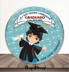 CHAPA GRADUACIÓN (Moreno -Medio)