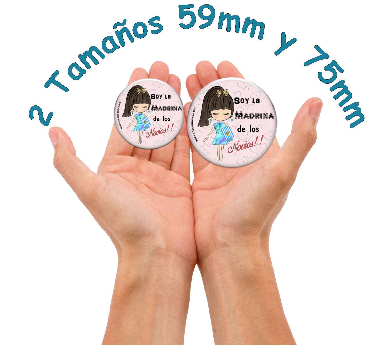2 CHAPAS ESPECIAL PARA LOS PADRINOS