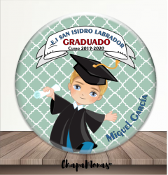 CHAPA GRADUACIÓN (Rubio- Corto)